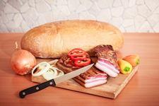 Domáca údená slanina